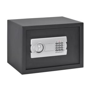 Sandusky Buddy 0.78 cu. ft. Steel Mediuml Home Safe with Removable Shelf and Electronic Lock, Black by Sandusky