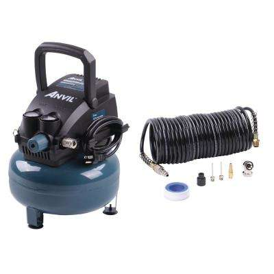 2G Pancake Air Compressor with 7-Pieces Accessories Kit