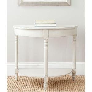 Randell White Birch Console Table