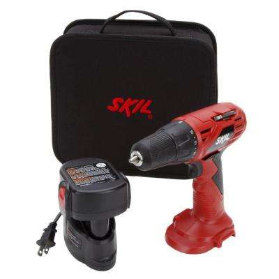 12-Volt Ni-Cad 3/8 in. Cordless Electric Power Drill/Driver