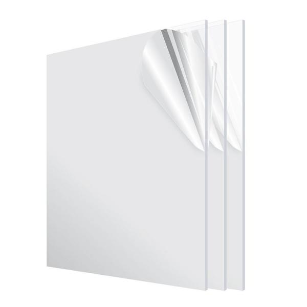 24 in. x 36 in. x 1/8 in. Clear Plexiglass Acrylic Sheet (3-Pack)