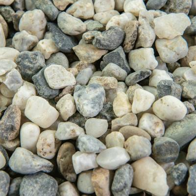 0.50 cu. ft. 3/8 in. Glacier Bagged Landscape Rock and Pebble for Gardening, Landscaping, Driveways and Walkways