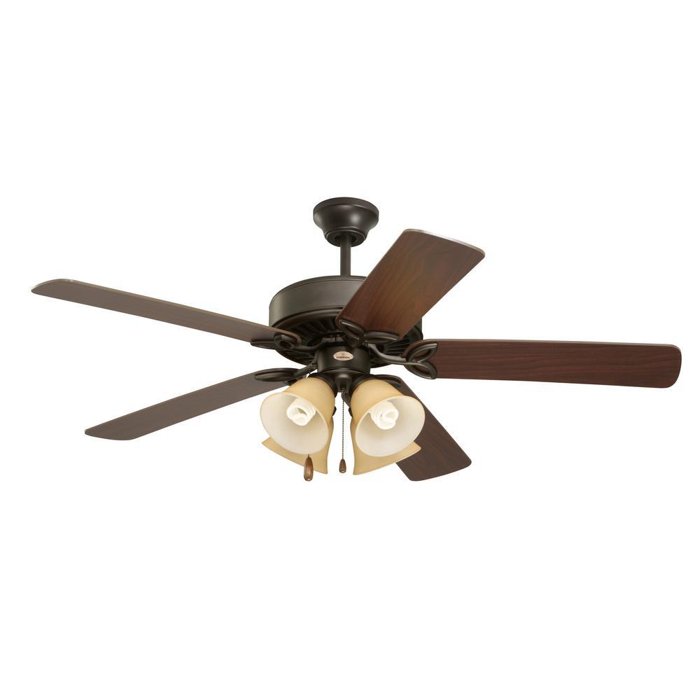 Pro Series II 50 in. Oil Rubbed Bronze Ceiling Fan