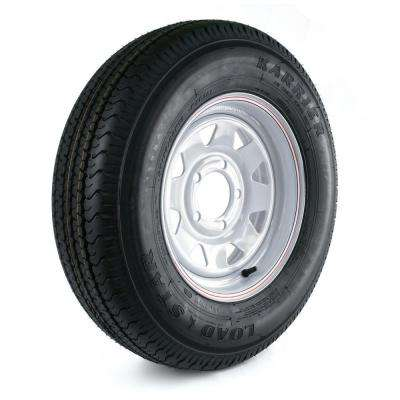 Karrier 175/80R-13 Load Range C 5-Hole Custom Spoke Radial Trailer Tire and Wheel Assembly