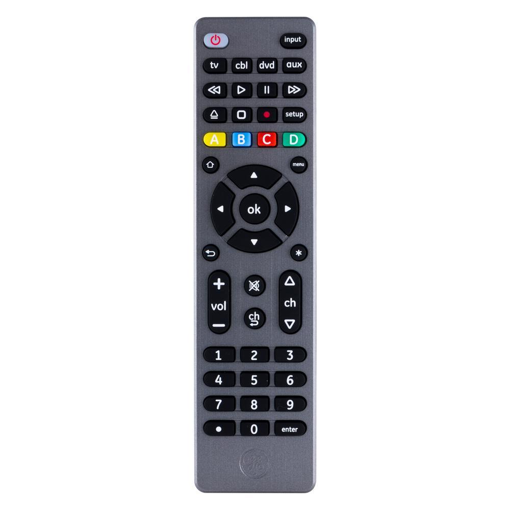 4-Device Universal Remote Control, Graphite