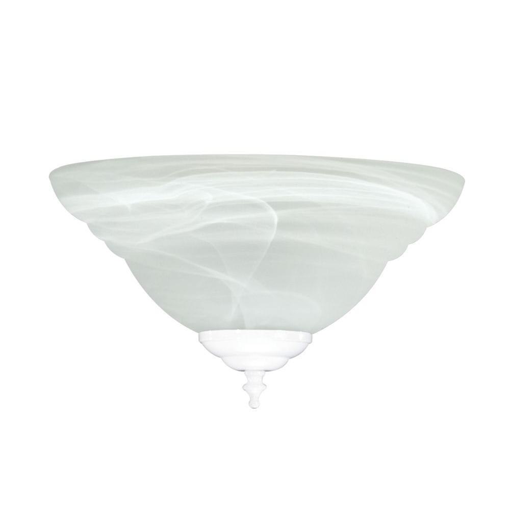 Illumine Satin 2-Light Ceiling Fan Light Kit