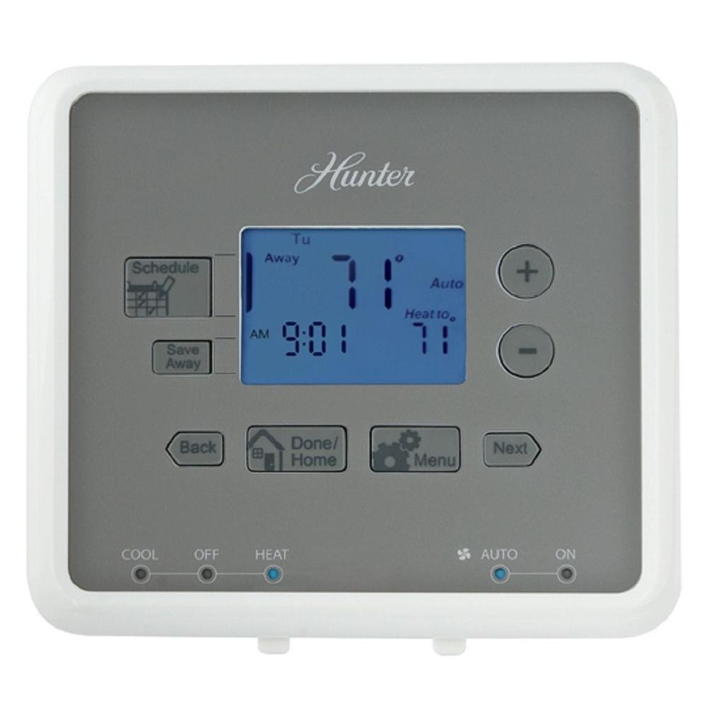 Hunter 5-1-1 Programmable Thermostat Universal