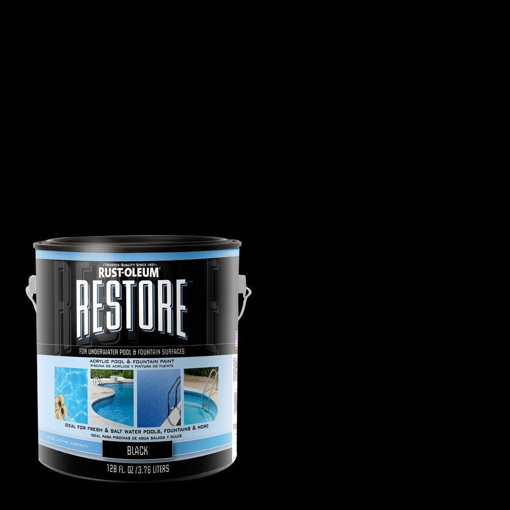 Rust-Oleum Restore 1-gal. Black Liquid Armor Pool Paint
