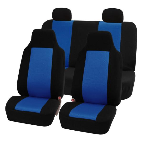 Fh Group Sandwich Fabric 47 In X 23 In X 1 In Full Set Seat Covers Brickseek