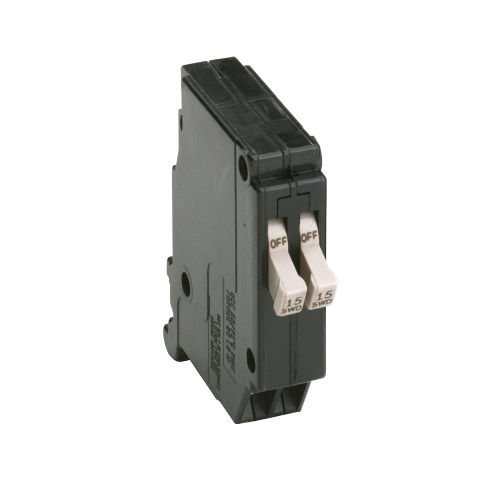 Eaton CH 2-15 Amp 1-Pole Tandem Circuit Breaker-CHT1515 - The Home Depot