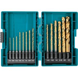 Deals on Makita Impact Gold Titanium Drill Bit Set 1/4 in Hex Shank