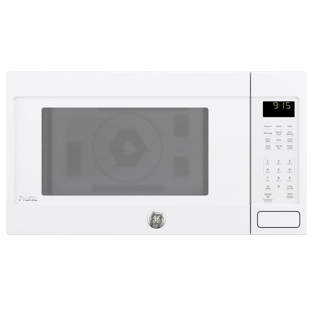 Profile 1.5 cu. ft. Countertop Convection Microwave in White