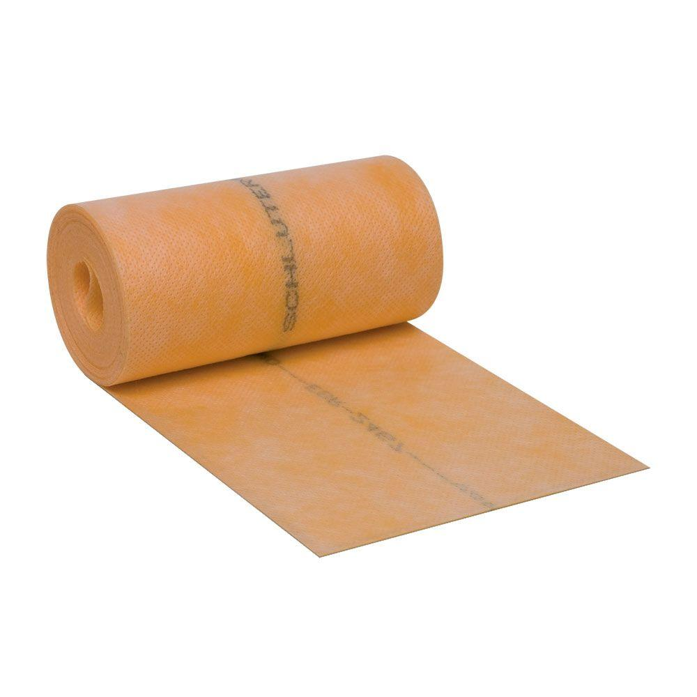 Schluter Kerdi Band 5 In X 16 Ft 5 In Waterproofing