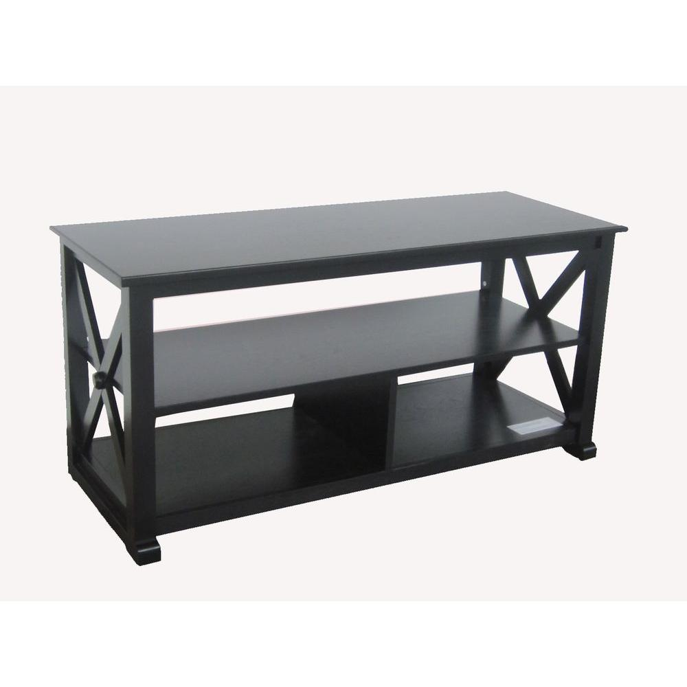 YOW Brexley Black Media Console