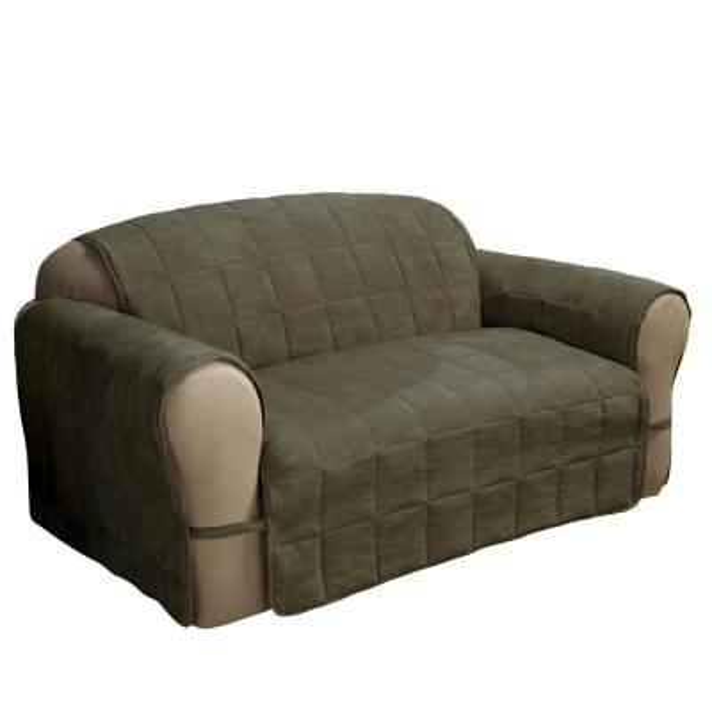 Sage Ultimate Faux Suede Sofa Protector