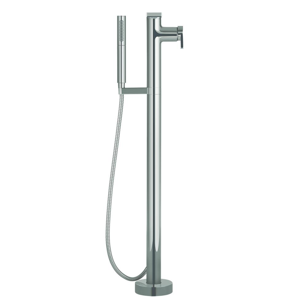 kohler roman tub faucet with hand shower. KOHLER Composed Single Handle Floor Mount Roman Tub Faucet with Handshower  in Vibrant Titanium
