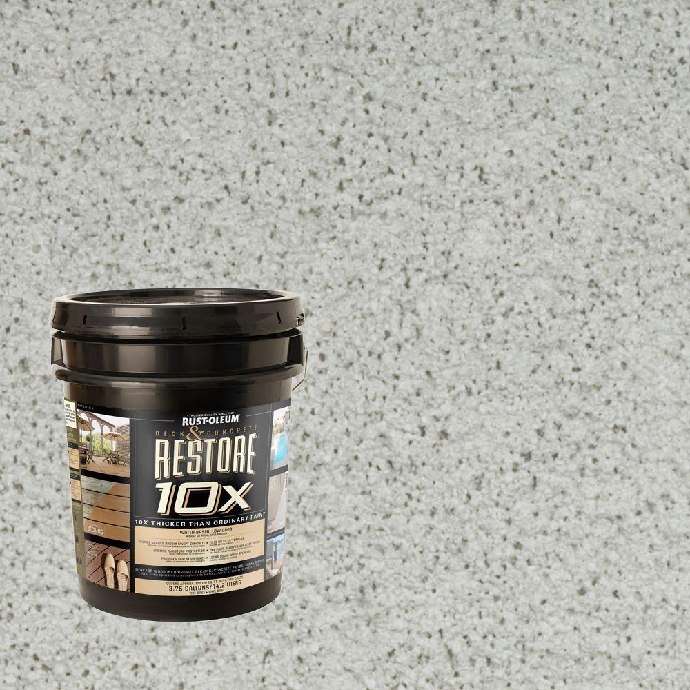 Rust-Oleum Restore 4-gal. Mist Deck and Concrete 10X Resurfacer