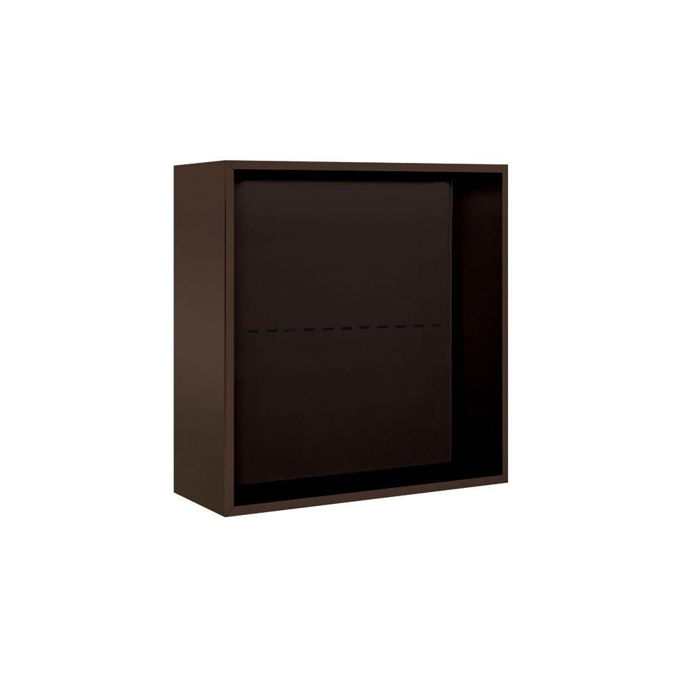 3800 Series Surface Mounted Enclosure for Salsbury 3707 Double Column Unit