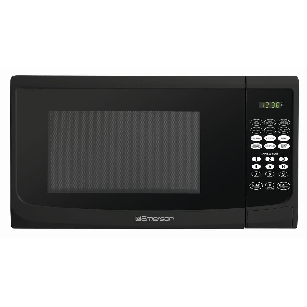 900 Watt Countertop Microwave Oven In Black