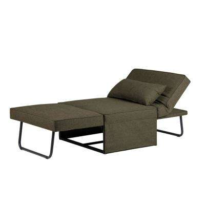 Madison Convertible Ottoman in Taupe