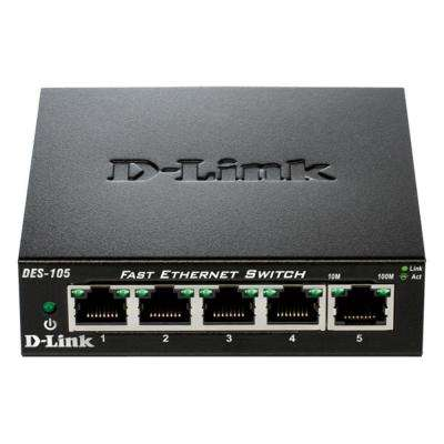 5-Port 10/100 Fast Ethernet Switch