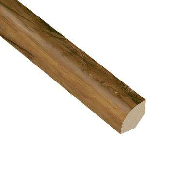 Woodland 3/4 in. Thick x 3/4 in. Wide x 94 in. Length Vinyl Quarter Round Molding