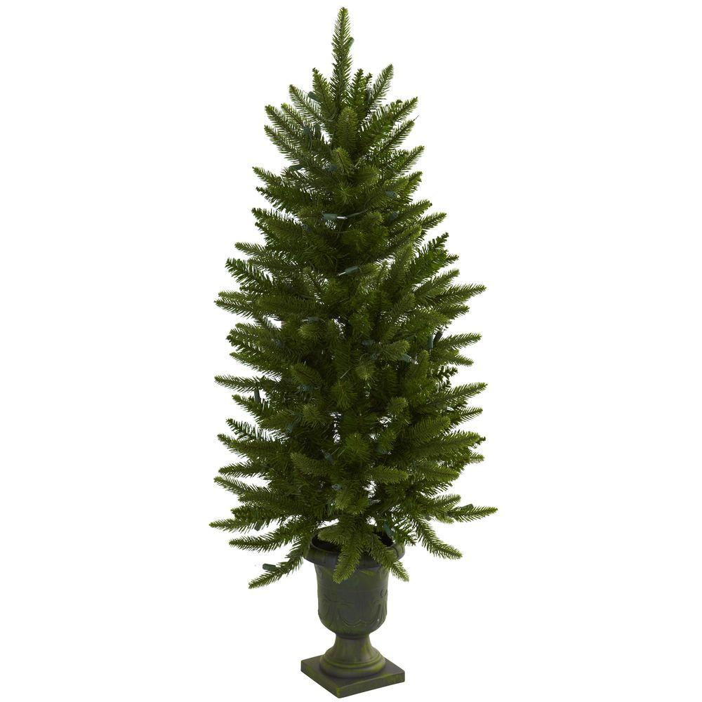 Artificial Christmas Tree With Urn