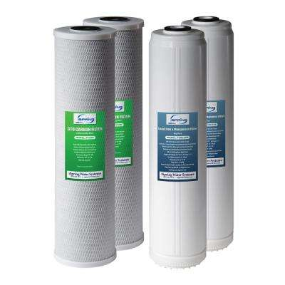 2-Stage 20 in. Whole House 1-Year Supply Fits WGB22B-PB