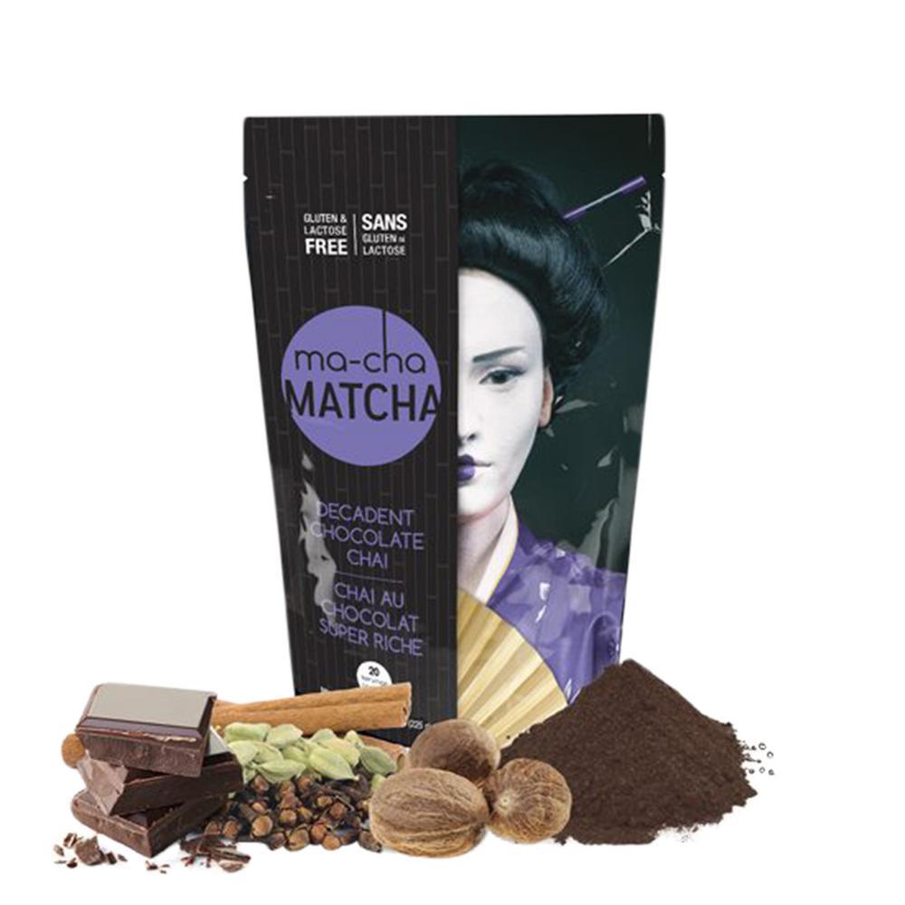 MA-CHA Chocolate Chai Latte Tea (6 Bags) TS-122-CS