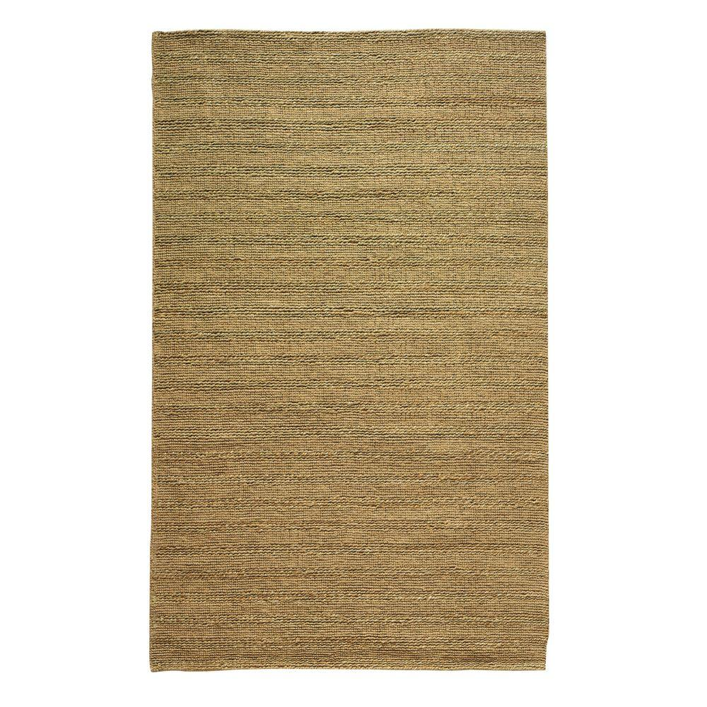 home decorators collection banded jute dark natural 4 ft
