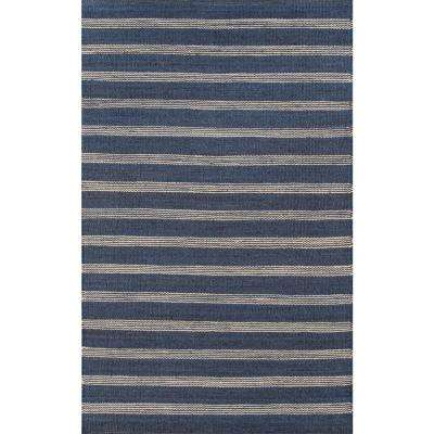 Montauk Lighthouse Navy 5 ft. X 7 ft. Indoor Area Rug