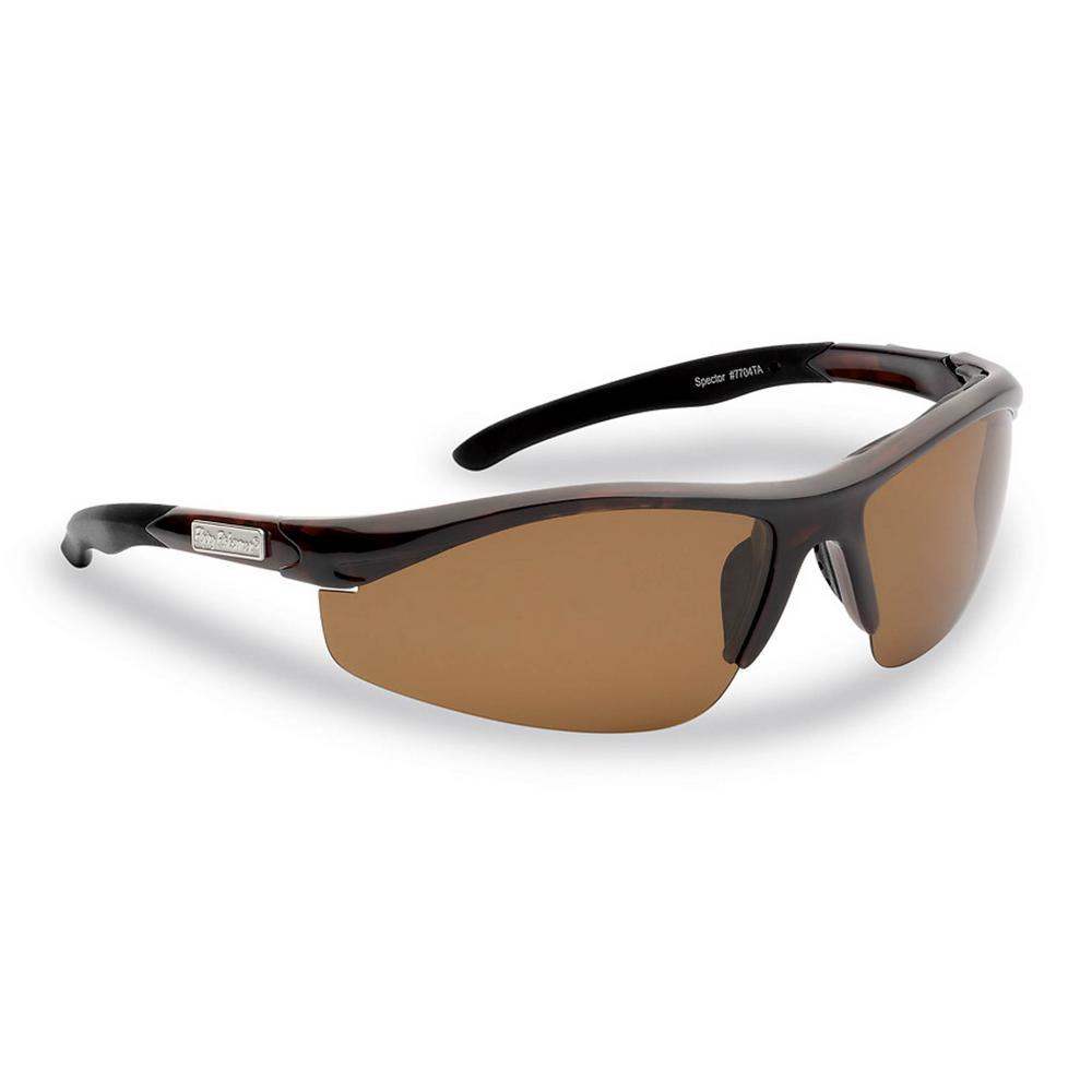 d56ce647da Flying Fisherman. Spector Polarized Sunglasses Tortoise Frame with Amber  Lens