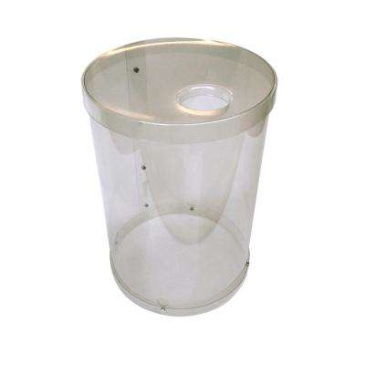 30 Gal. Clear Recycling Bin