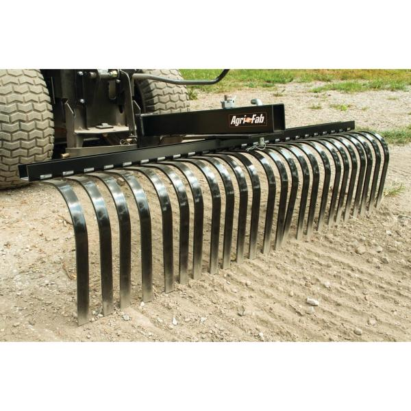 Agri Fab 48 In Sleeve Hitch Rock Rake 45 0366 The Home Depot