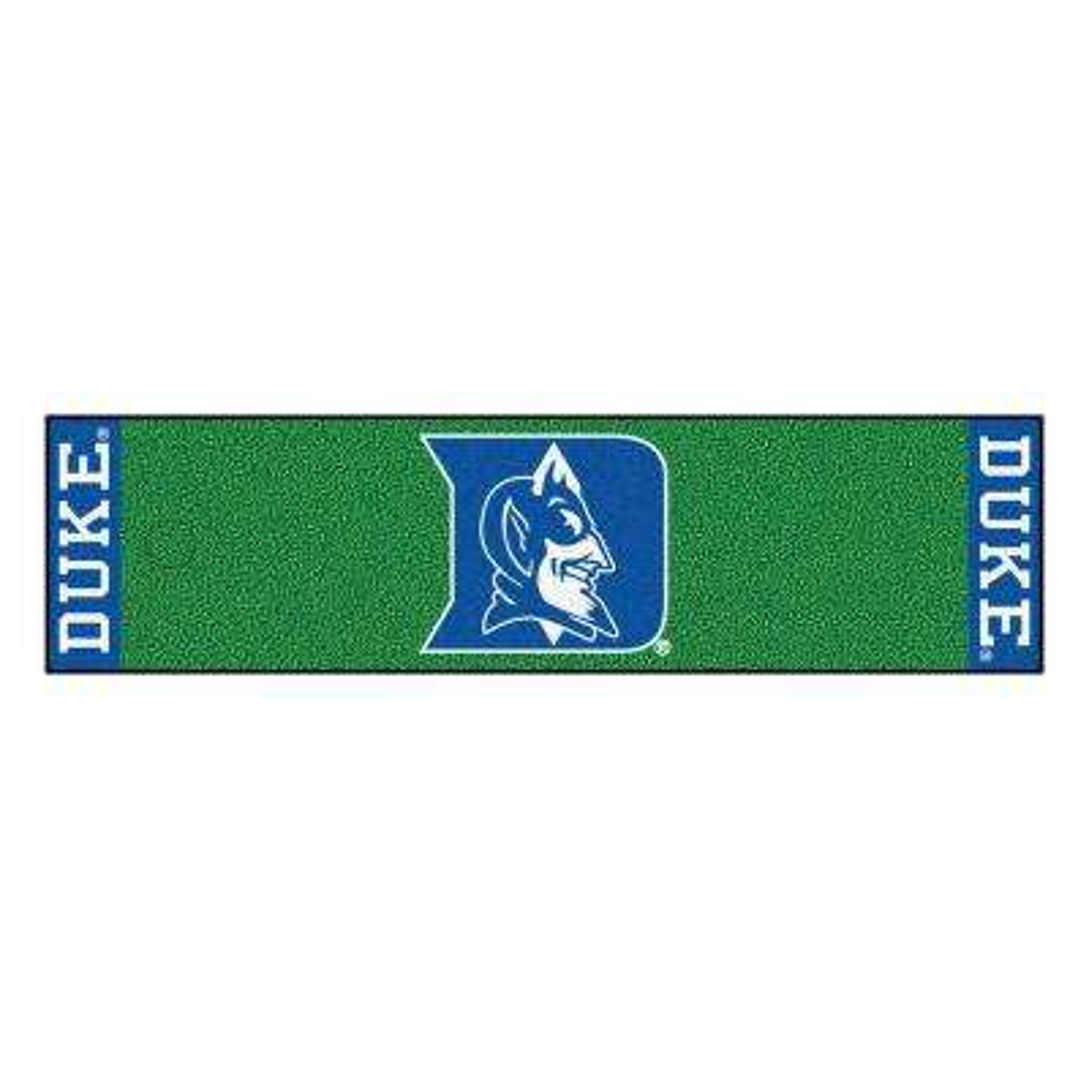 NCAA Duke University 1 ft. 6 in. x 6 ft. Indoor 1-Hole Golf Practice Putting Green