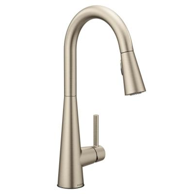 Sleek Single-Handle Pull-Down Sprayer Kitchen Faucet with Reflex and Power Clean in Spot Resist Stainless