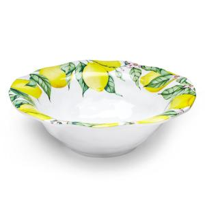 Click here to buy Q Squared Limonata 12 inch Melamine Serving Bowl by Q Squared.