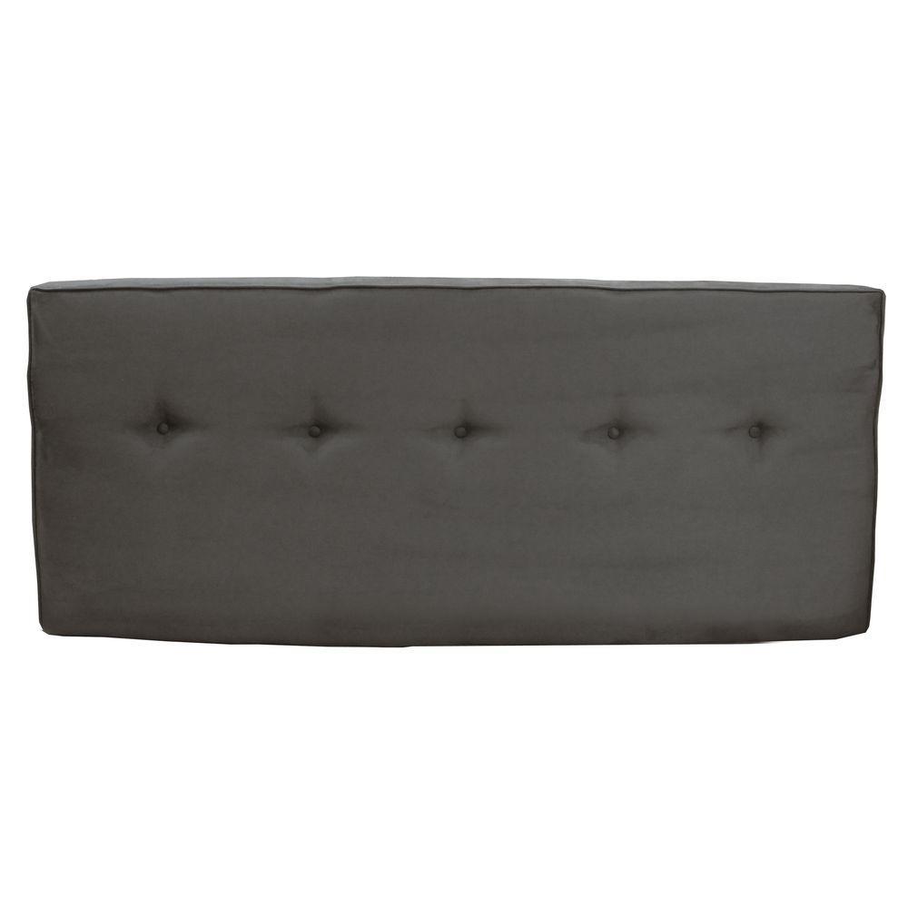 Home Decorators Collection SoHo Charcoal King Headboard