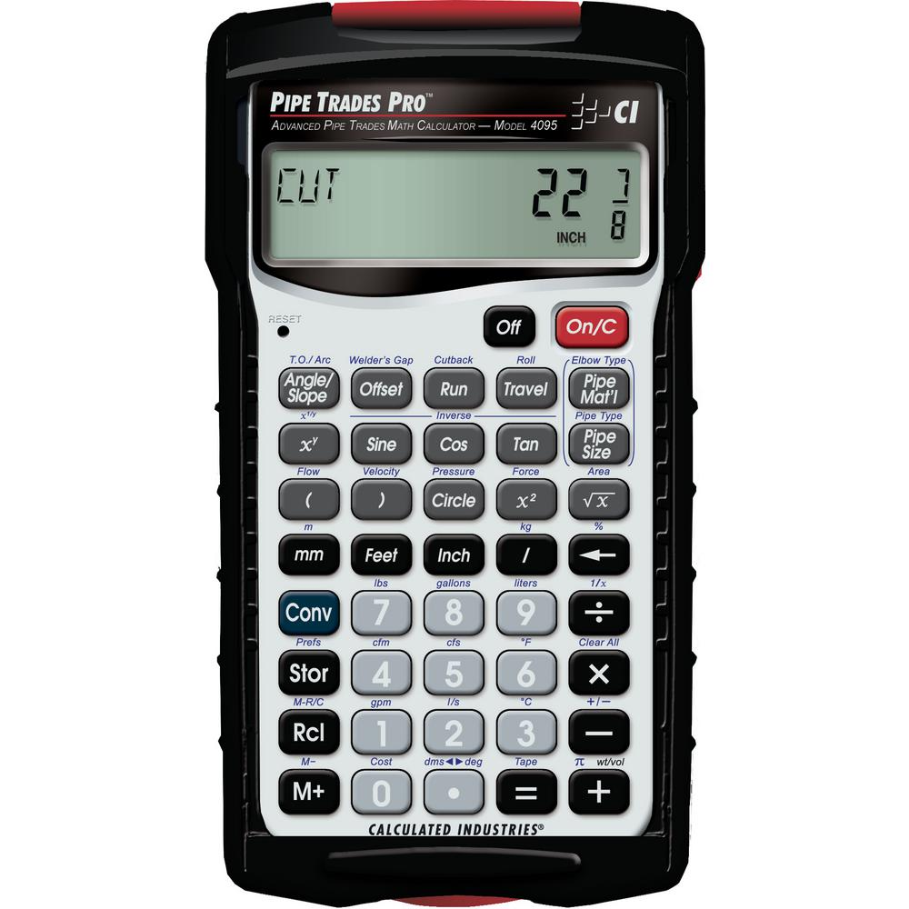 Calculated Industries Pipe Trades Pro Calculator
