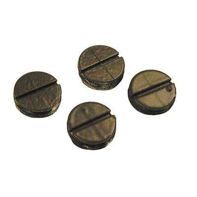 1/2 in. Weatherproof Closure Plugs (4-Pack)