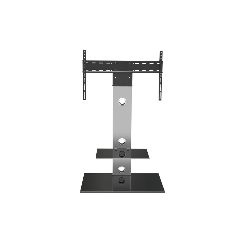 Avf Lesina Tv Floor Stand With Tv Mounting Column For 32 In To 65