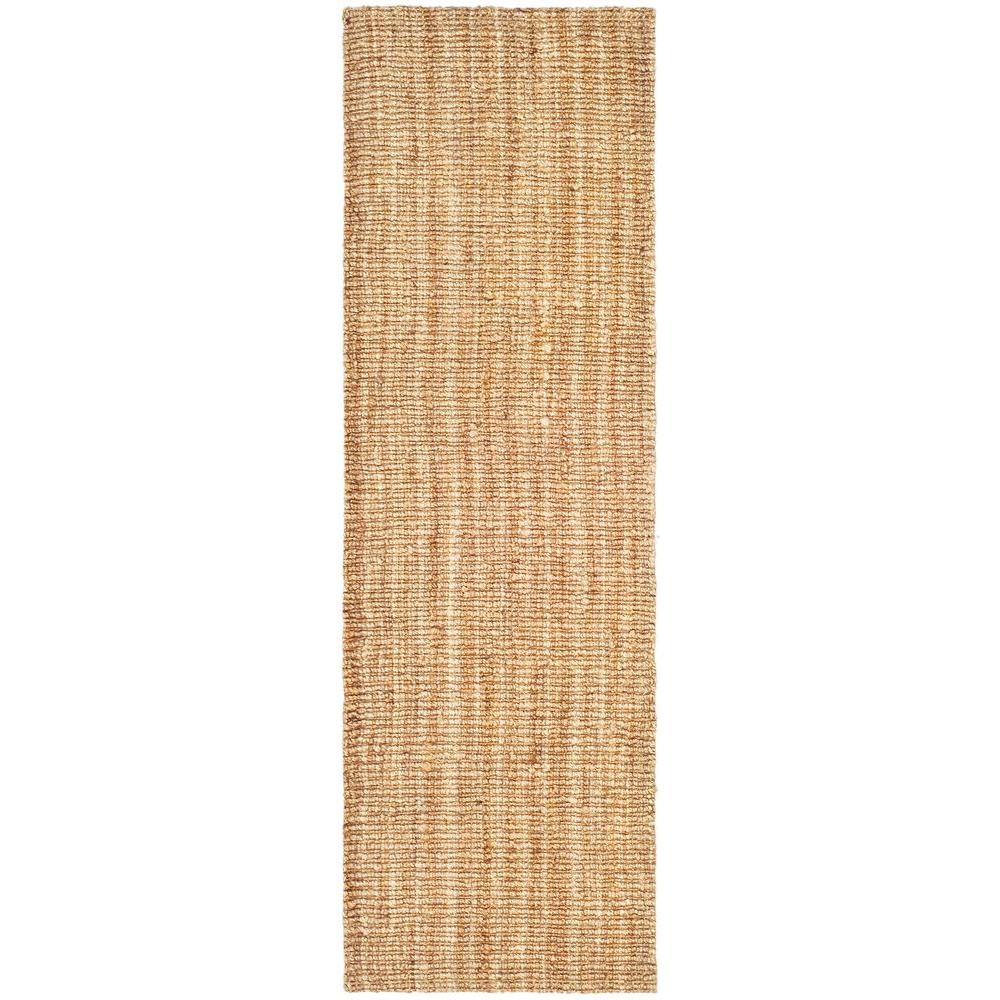Safavieh Natural Fiber Beige 3 ft. x 10 ft. Indoor Runner Rug