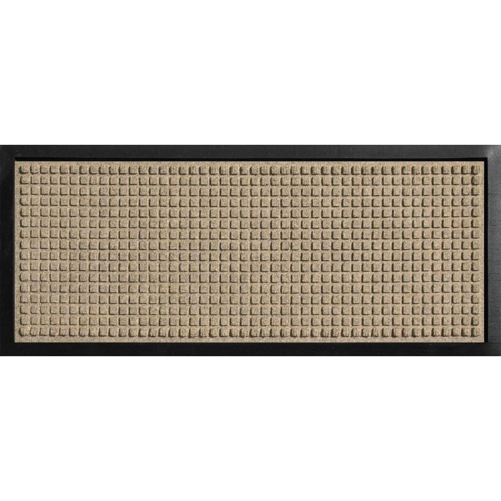 Aqua Shield Boot Tray Squares Khaki 15 in. x 36 in.
