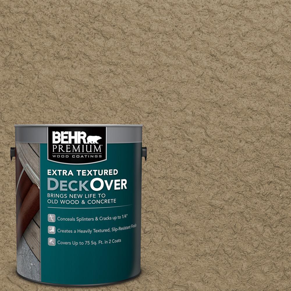 BEHR Premium Extra Textured DeckOver 1 gal SC 121 Sandal Extra