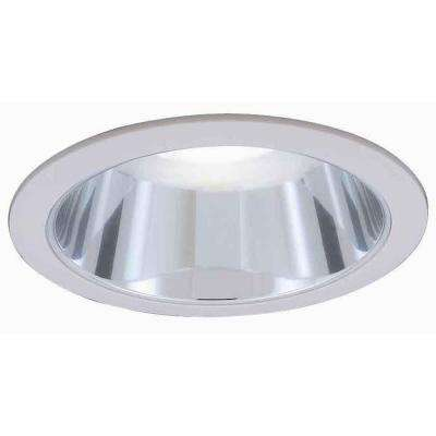 6 in. R30 Chrome Recessed Reflector Trim