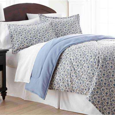 Jacobean King 4-Piece Comforter Set