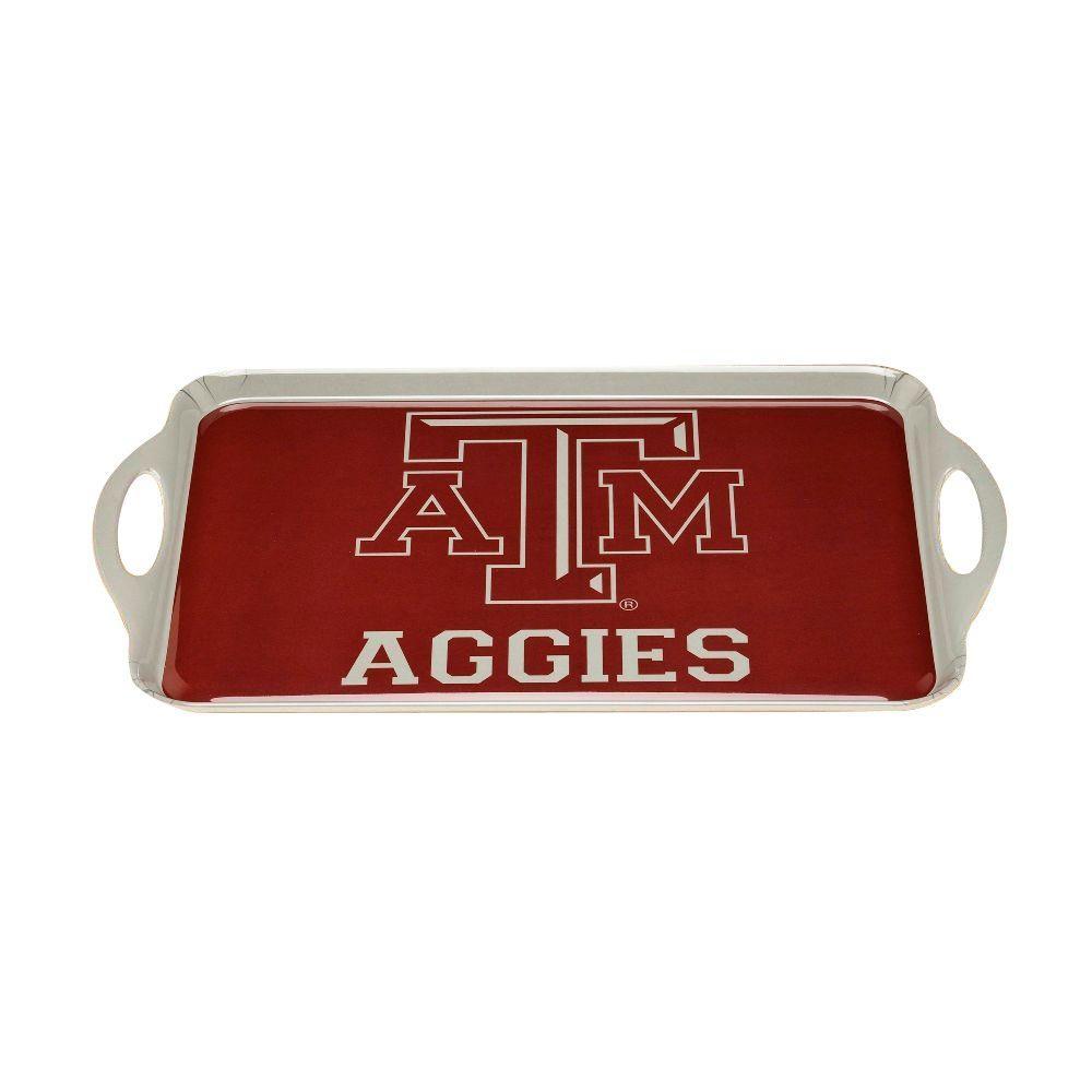 NCAA Texas A&M Aggies Melamine Serving Tray