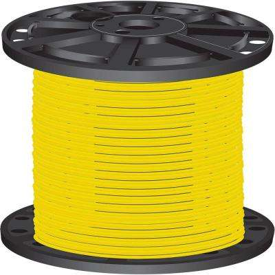 2,500 ft. 10 Yellow Solid CU THHN Wire