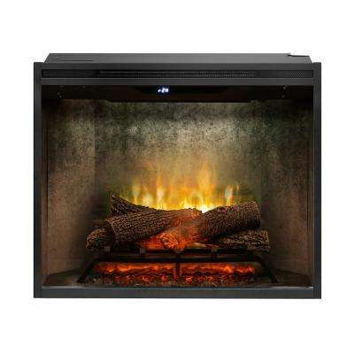Revillusion 30 in. Built-In Electric Firebox Insert Weathered Concrete