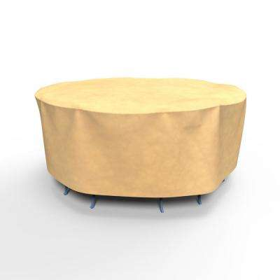 All-Seasons Small Round Patio Table and Chairs Combo Covers